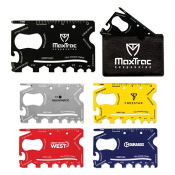 TOL4 - 18-in-1 Credit Card Sized Tool