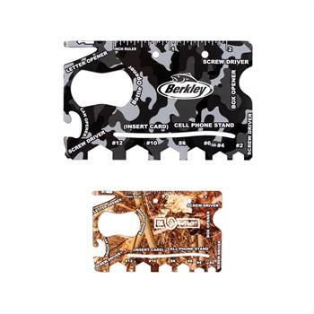 TOL8 - Camo 18 in 1 Credit Card Tool