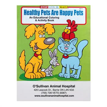 WCB10 - Healthy Pets are Happy Pets Coloring Book