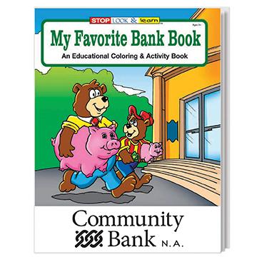 WCB12 - My Favorite Bank Coloring Book
