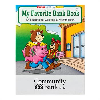 WCB12 - My Favorite Bank Coloring Book