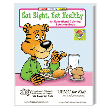 WCB3 - Eat Right Eat Healthy Coloring Book