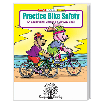 WCB6 - Practice Bike Safety Coloring Book