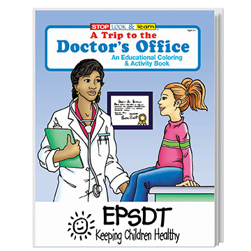 WCB8 - A Trip to the Doctor's Office Coloring Book