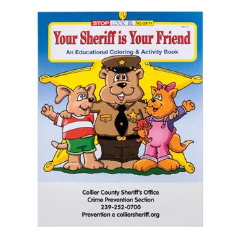 WCB9 - Your Sheriff is Your Friend Coloring Book