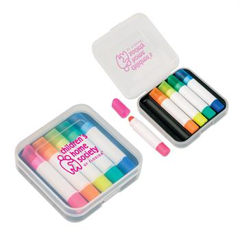 WL1005X - 5 Piece Wax Highlighter Set