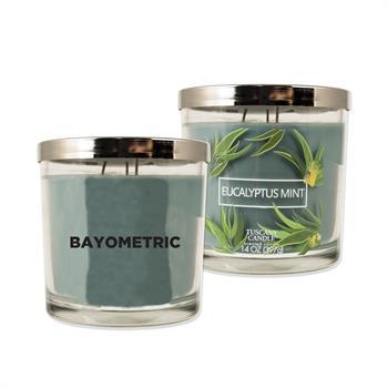 WL1043X - 14 oz. Tuscany Candle - Eucalyptus Mint Scent