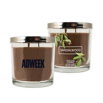 WL1044X - 14 oz. Tuscany Candle - Sandalwood Scent