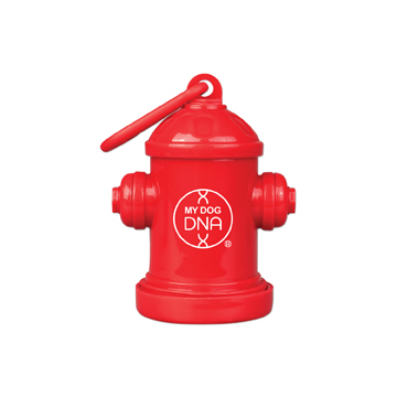 WL1086X - Red Fire Hydrant Bag Holder
