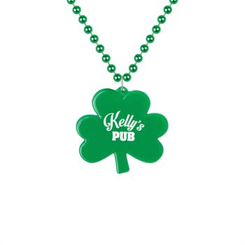 WL633X - Shamrock Medallion Beads