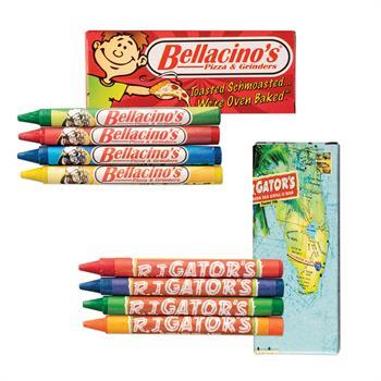 WL655 - Custom 4 Pack Crayons Box