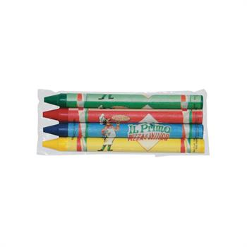 WL660 - Custom 4Pack Cello Crayons