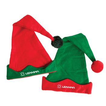 WL748X - Elf Hat With Pom Poms
