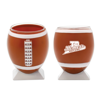 WL786X - Plastic Football Shotglass