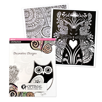 WL835X - Coloring Book For Adults