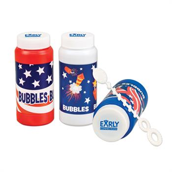 WL966X - Patriotic Bubbles - 4 oz.