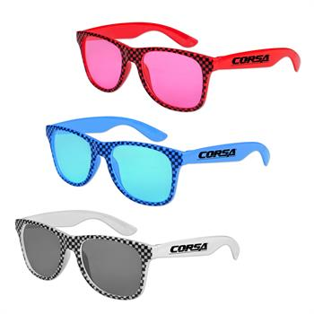 Checkered Glasses - Assorted Colors