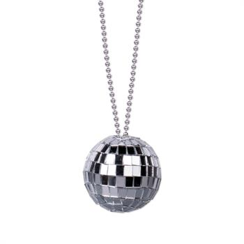 WP1008 - Disco Ball Necklace