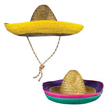WP10N - Neon Rimmed Sombreros