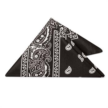 WP17BLK - Black Bandana
