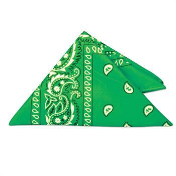 WP17G - Green Bandana