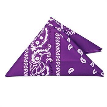 WP17L - Purple Bandana