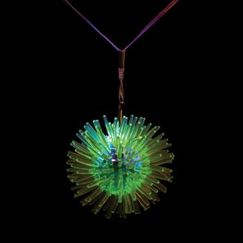 WP295 - Flashing Porcupine Necklace