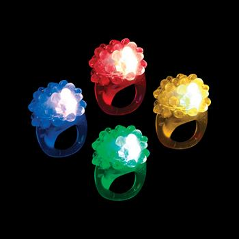 WP390 - MultiColored LED Jelly Rings