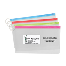 Large Pouches With Business Card Slot