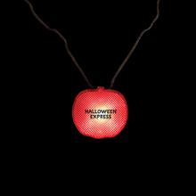 Pumpkin Light Up Strobe Necklace