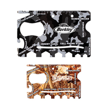 Camo 18 in 1 Credit Card Tool