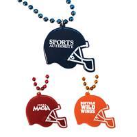 Football Helmet Medallion Beads