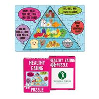 54 Piece Mini Healthy Eating Puzzles