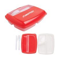 Red Round Lunchbox