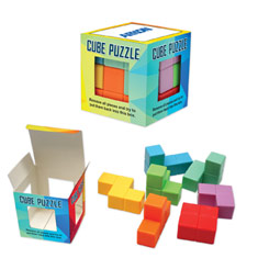 Cube Puzzle In Box