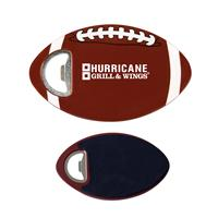 Football Coaster Bottle Opener