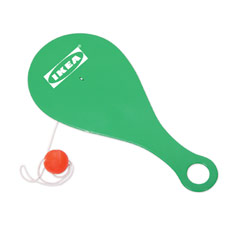 Plastic Paddle Ball