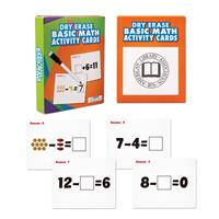 Wipe Off Dry Erase Cards - Math