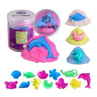 Magic Molding Cotton Sand with Plastic Mold