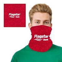 Holiday Ornament Design 2 Layer Cooling Fiber Headband Mask