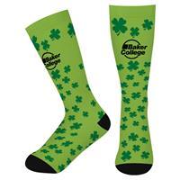 Shamrock Long Custom Socks