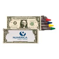4 Pack Money Crayons