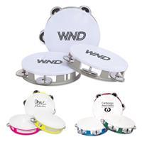White Top Tambourine