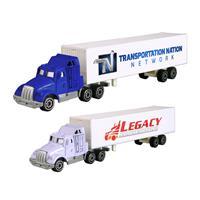 Die Cast Decal Tractor Trailer Truck