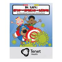 Stop the Spread of Germs Coloring Book
