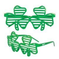Shamrock Shutter Glasses