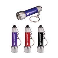 Mini Metal Flashlight Keychain