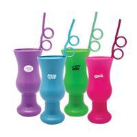 Krazy Straw Hurricane Cups