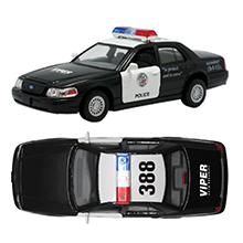 Police Car Crown Victoria Police Car Pull Back