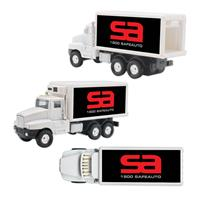 Refrigerated Box Truck Pull Back Decal